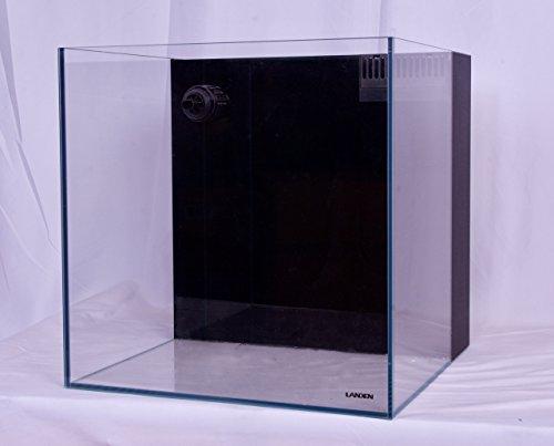 Landen 60P 28.5 Gallon Rimless Low Iron Aquarium Tank, Salt Water Tank, Sea Water Tank, 23.62'' L × 17.72'' W × 15.75'' H (60cm x 45cm x 40cm) 8mm thickness 901003 by Landen