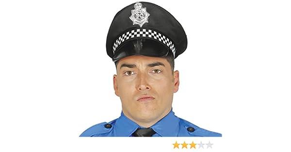 Guirca- Gorra Policía local, u (13711.0): Amazon.es: Juguetes y juegos