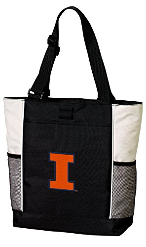 Broad Bay Illini Tote Bags University of Illinois Totes Beach Pool Or Travel