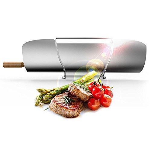 Hiosun Portable Solar Cooker Smoke Free Solar Stove Solar Oven Handy Yummy