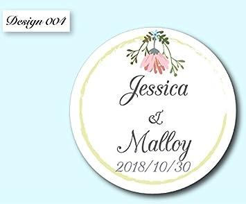 amazon com 4cm 120 pieces personalized wedding invitations favor