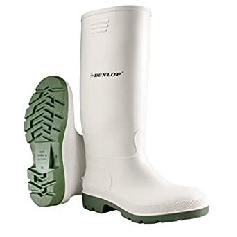 Dunlop Mens Pricemastor 380BV Wellington Boots (UK Size: 41 EUR) (White/Green)