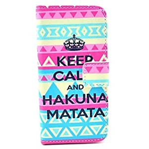 JOE Personalized Gift Signature Keep Calm Style Full Body Case for iPhone 5/5S