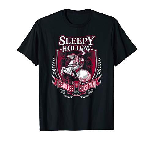 Sleepy Hollow   Headless Horseman   Gothic Halloween T-shirt]()