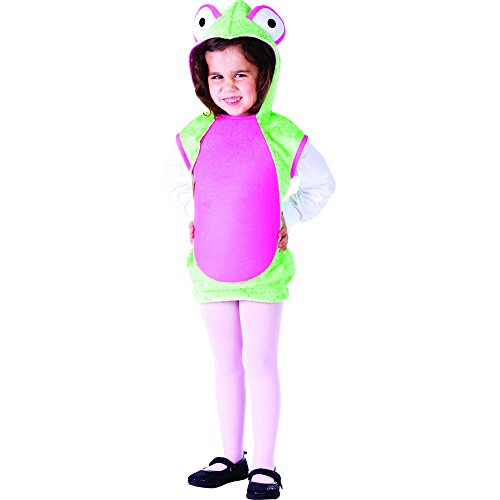 Dress Up America Mrs. Frog Costume - Size Toddler 4