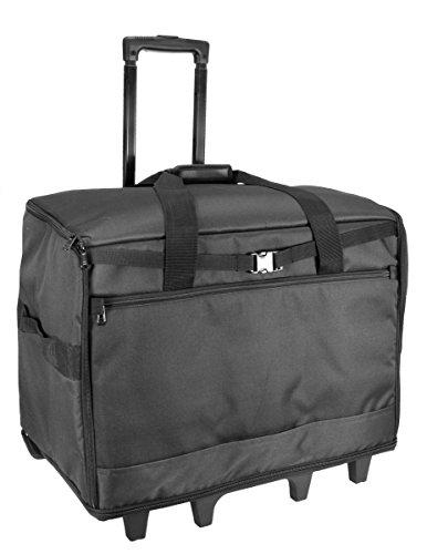 Birch 006107-BLACK | XL Sewing Machine Trolley Bag | 63x43x30cm by Birch