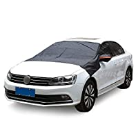Xiaomu Christmas Windshield Sunshade Auto Sun Visor Portable Front Window Snow Cover Guard Protector Sun Shield Cover