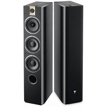 Focal Chorus 726 3-Way Bass Reflex Floorstanding Speakers - Pair (Black  Style)