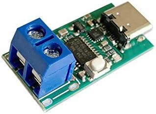 QinMei Zhou タイプCのUSB-C PD2.0 PD3.0高速充電トリガポーリング検出器USB-PD手帳電源変更ボードモジュールDC偽装詐欺へ (Size : Terminal block)