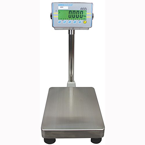 Adam Equipment ABK 70a Bench and Floor Weighing Scale, 70lb/32kg Capacity, 0.002lb/1g Readability