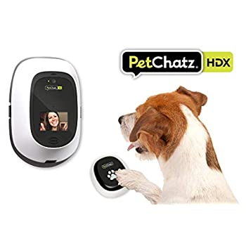 Image of PetChatz HDX [New] Premium 2-Way Pet Treat Camera, HD 1080p Video, Motion/Sound Detection Smart Video Recording, Aromatherapy, Streams DOGTV, Compatible with Alexa, Designed for Dogs and Cats Pet Supplies