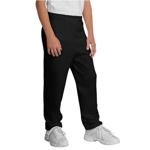 Small Black 6-8 Port and Company Sweatpant