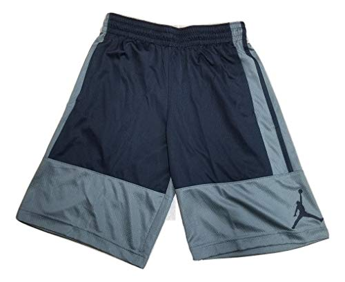 Nike Air Jordan Rise Gray/Black Men's Basketball Shorts Grey Black AR2833 018 (m)