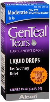 Genteal Tears Moderate Eye Drops, 0.507 Fluid Ounce