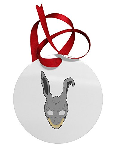 TooLoud Scary Bunny Face Circular Metal (Donnie Darko Outfit)
