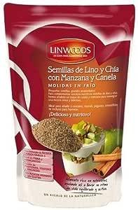 Semillas de Lino y Chia con Manzana y Canela 200 gr de Linwoods ...