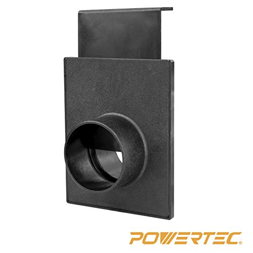 POWERTEC 70133 2-1/2-Inch Blast Gate for Vacuum/Dust Collector