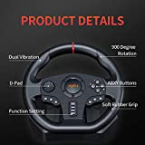 PXN V900 PC Racing Wheel, Universal USB Car Sim