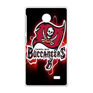 DASHUJUA Tampa Bay Buccaneers Fahionable And Popular Back Case Cover For Nokia Lumia X