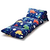 Kids Floor Pillow Case Dinosaur on Ivory Beige Requires 5 Standard Size Pillows Cover Only 100/% Cotton Lounger Toddler Floor Pillow Cover Wake In Cloud Pillows Not Included