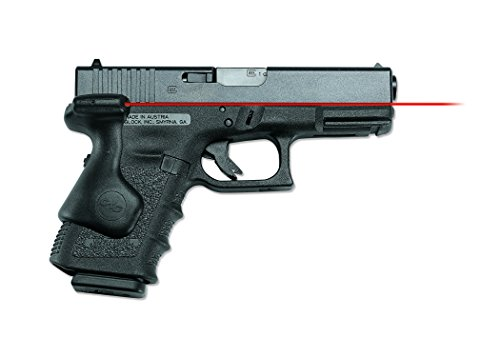 Crimson Trace LG-639 Lasergrips Red Laser Sight Grips for GLOCK Compact Pistols 19, 23 etc.