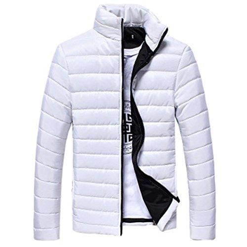 Misaky L'inverno white Cappotti Giù Cerniera Di Rivestimento I Degli Uomini Del Caldo All'aperto Per Spessore SSwq5Hr