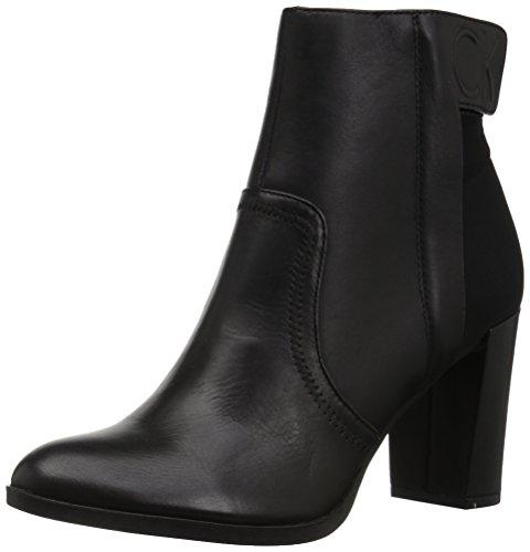 Calvin Klein Women's Pavla Ankle Boot Black 9 Medium US