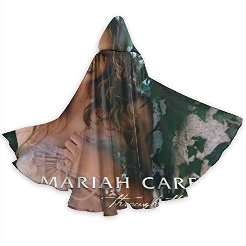 Mariah Carey Halloween (JoyceMHunter Mariah Carey - Through The Rain CapeHalloween Costume Masquerade Cloak,Adult Halloween Cloak,Halloween)