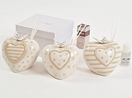 Bomboniere Matrimonio Amazon.Bomboniere Wedding Wedding Groom Reed Diffuser Porcelain Butterfly