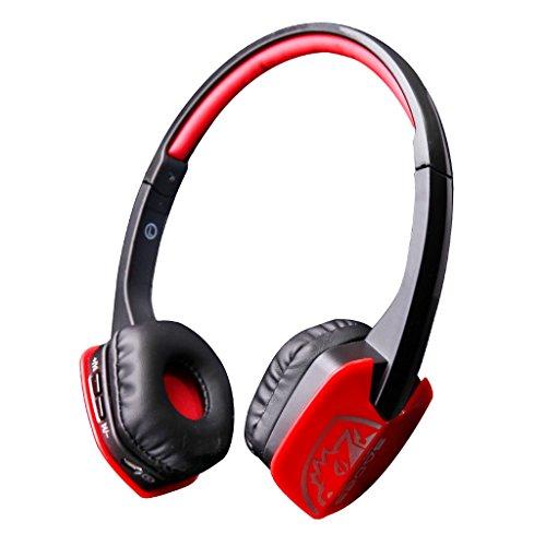 Wireless Bluetooth Earpiece Headset Headphones Microphone