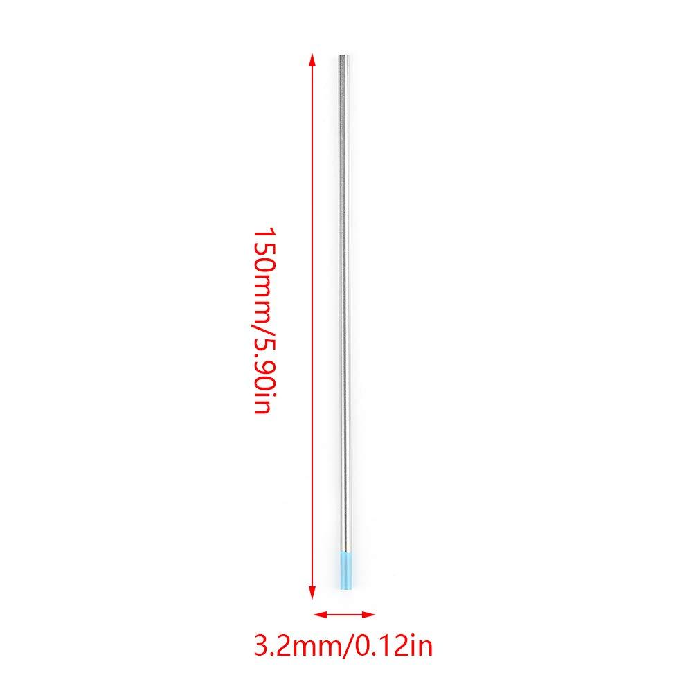 3.2mm*150mm 10pcs //box Premium WL20 Tungsten TIG Welding Tungsten Electrode Rod 2.0/% Lanthanated for Welding Machine