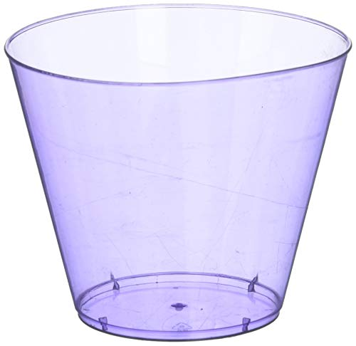 New Purple Plastic Cups Big Party Pack, 9 Oz., 9 Pk.