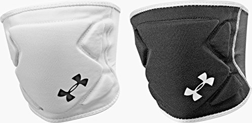Under Armour Adult Unisex Switch Reversible Volleyball Knee Pad Small/Medium Black/White/White