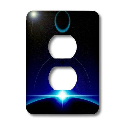 3dRose LLC lsp_19255_6 Solar Scene 2-Plug Outlet Cover