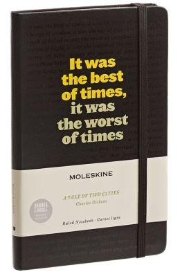A Tale of Two Cities, Charles Dickens Moleskine - Limited Edition Barnes & Noble Exclusive - Exclusive Creme