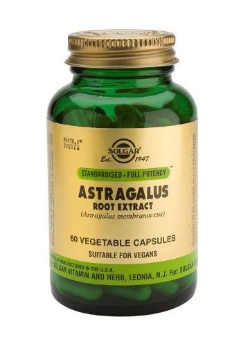 Solgar - extrait de racine d'astragale, 60 capsules végétariennes