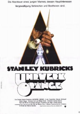 A CLOCKWORK ORANGE 1971 ORIGINAL OFFICIAL CINEMA MOVIE PRINT PREMIUM POSTER