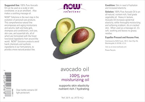 Now Foods Avocado Oil - 16 fl. oz. 3 Pack