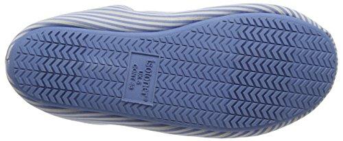 Mules Bleu Stripe Pale Pantoufles Ladies Pbl Woven Blue Isotoner Femme Lilas qBx4tO0