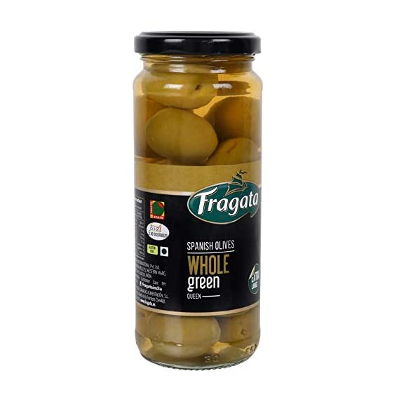 Fragata Plain Green Olives 340g- QUEEN
