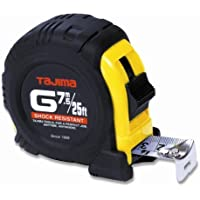 Tajima G-25/7.5MBW 25-Feet Standard and Metric Scale Tape Measure by Tajima