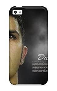 Top Quality Case Cover For Iphone 5c Case With Nice David Villa S1 Appearance