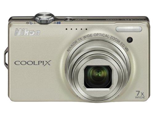 Nikon デジタルカメラ COOLPIX (クールピクス) S6000 シャンパンシルバー S6000SL