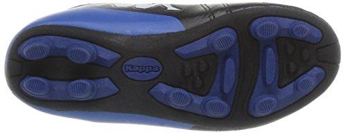 Kappa Kappa 4 Soccer PlayerFg Lace - Botas de Fútbol de material sintético niño negro - Noir (Black/Blue)