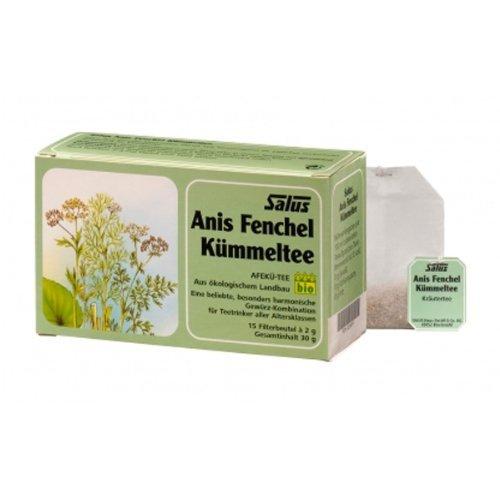 Flora, Inc. Anise/Fennel/Caraway Herbal Tea 15 tea bags