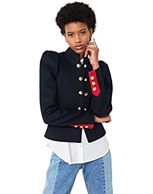 Mango Women's Military-Style Jacket