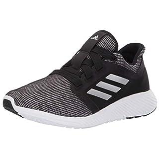 adidas Women's Edge Lux 3 Running Shoe, Black/Silver Metallic/Black, 7 M US
