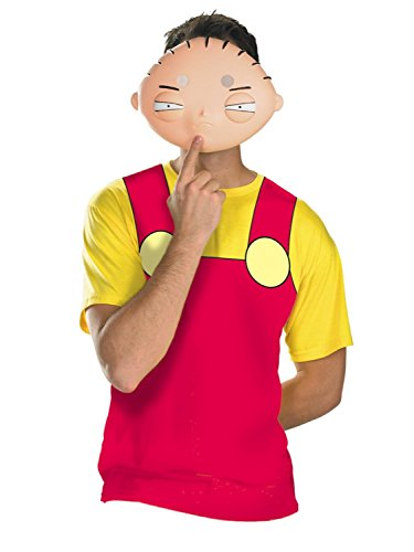Family Guy Mens Halloween 2 Go Stewie Costume with Mask L/XL