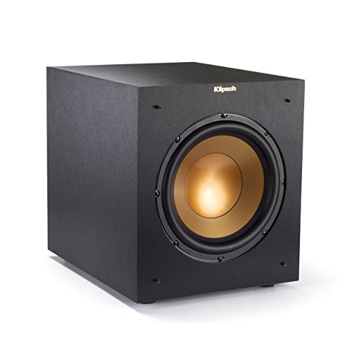 Klipsch R-10SWi 10'' Wireless Subwoofer - Brushed Black Vinyl by Klipsch