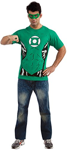 Rubie's Costume DC Comics Men's Green Lantern T-Shirt